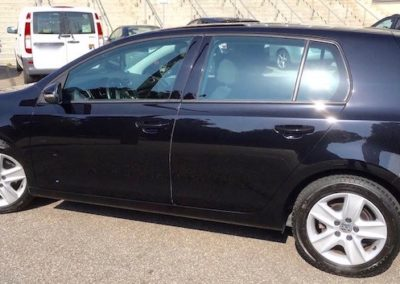 VW Golf Auto Politur